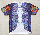 Japanese Tattoo Art T-shirt Butterfly