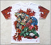 Japanese Tattoo Art T-shirt Samurai